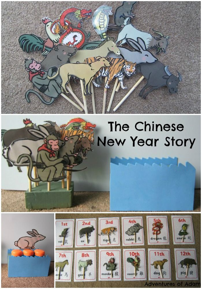 The Chinese New Year Story. Teach young children the story of the Chinese New Year. | http://adventuresofadam.co.uk/chinese-new-year-story/
