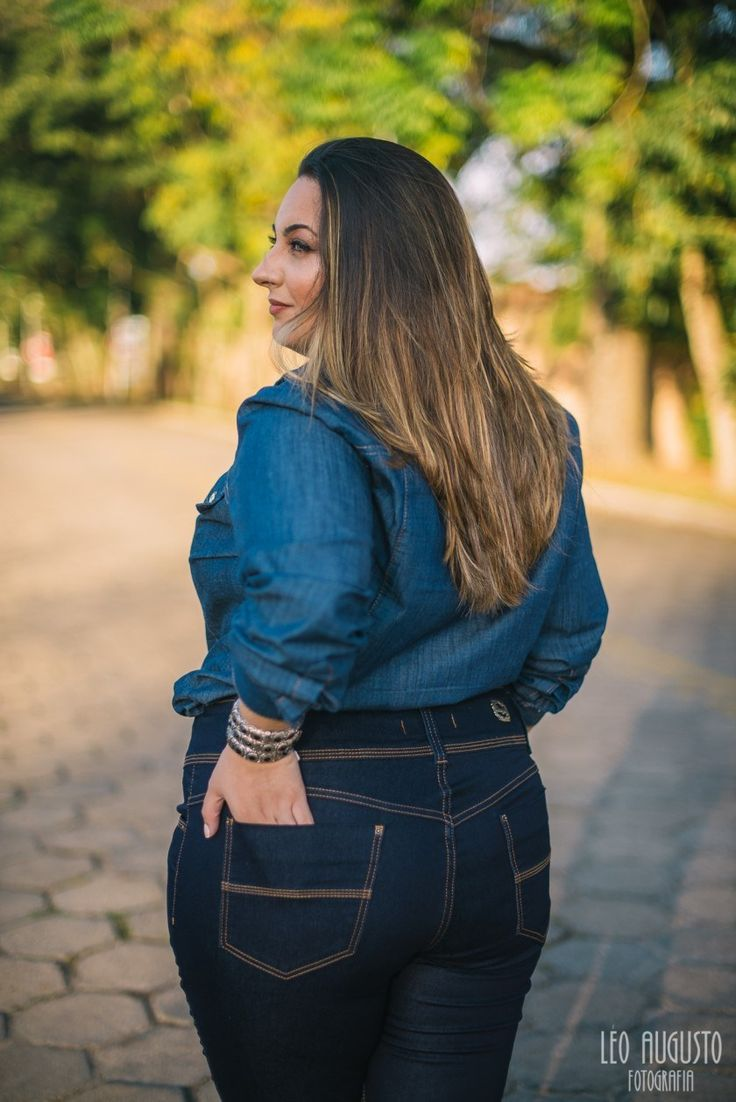 Look Total Jeans Versátil e Elegante para o público plus size !