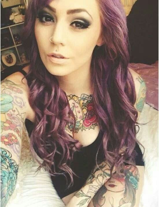 88 best images about selfie on pinterest sexy follow me for Hair tattoo for girl