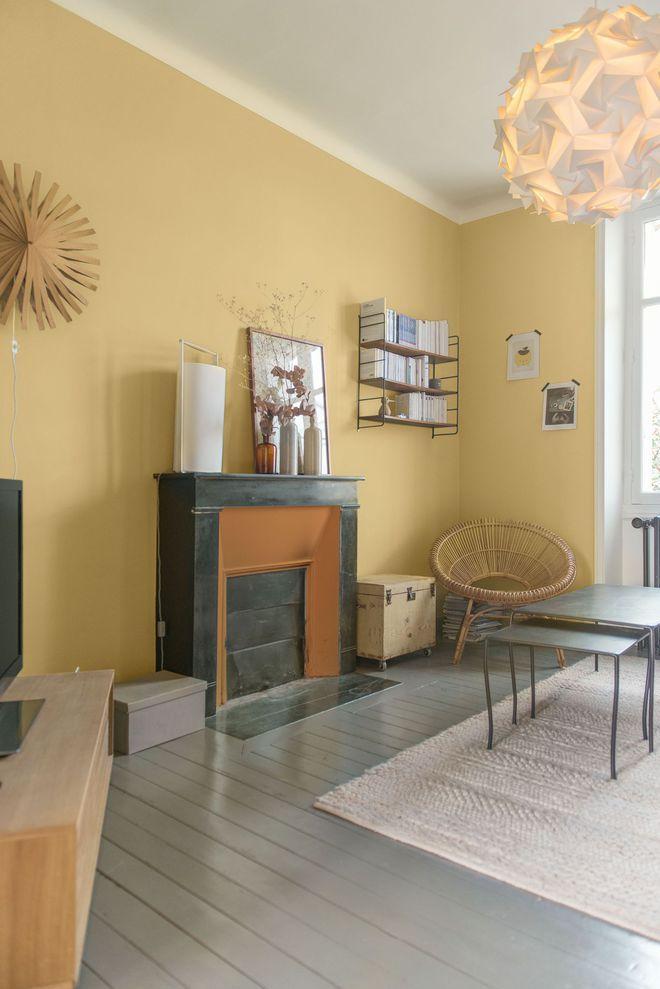 Peinture salon 30 couleurs tendance pour repeindre le salon peinture bureau peinture salon - Tendance peinture salon ...