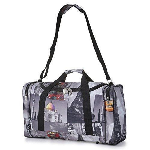 Oferta: 6.98€ Dto: -44%. Comprar Ofertas de 5Cities peso ligero equipaje de mano Cabina Sized Deportes Duffel Holdall, Unisex, multicolor barato. ¡Mira las ofertas!