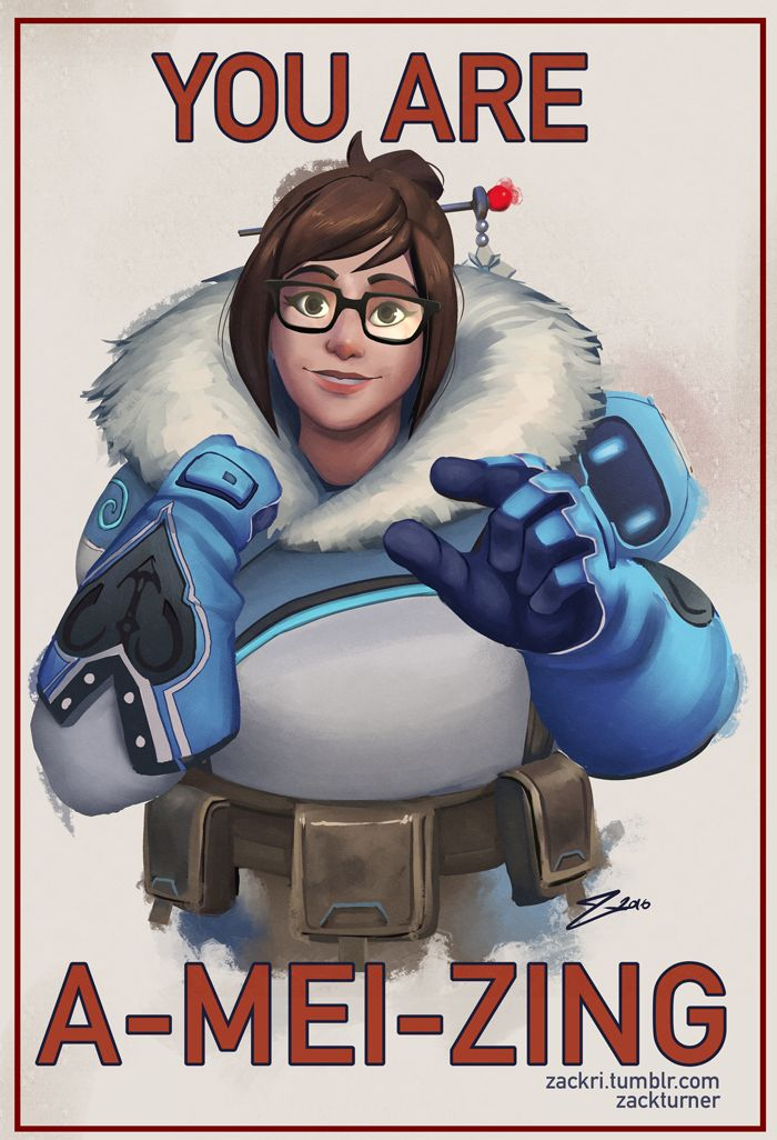 You are A-MEI-ZING by ZackRI
