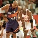 June 11, 1993: Michael Jordan of the Chicago Bulls and Charles Barkley of the Phoenix Suns each scored 42 points in Chicago's 111-108 victory, marking the first time in NBA Finals history that opposing playersJune 11, 1993: Michael Jordan of the Chicago Bulls and Charles Barkley of the Phoenix Suns each scored 42 points in Chicago's 111-108 victory, marking the first time in NBA Finals history that opposing players each scored 40 or more points in the same Finals game. Finish reading the…