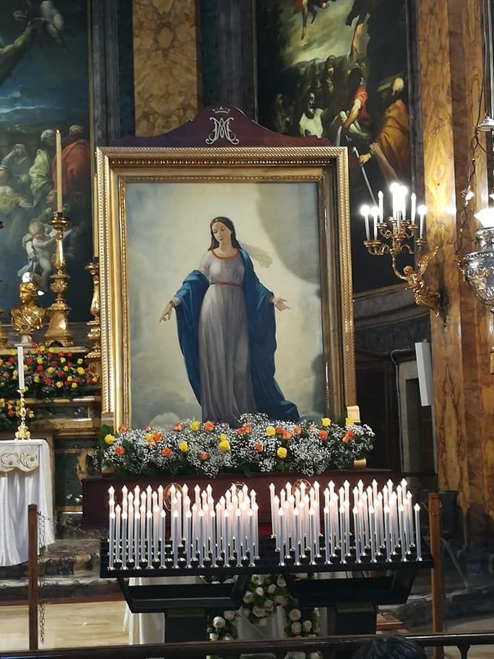 Madonna Del Miracolo Presso Basilica Di Sant Andrea Delle Fratte Roma