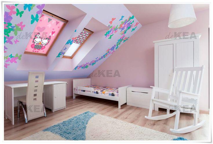 Rolety dachowe deKEA do pokoi dziecięcych. setki wzorów do wyboru