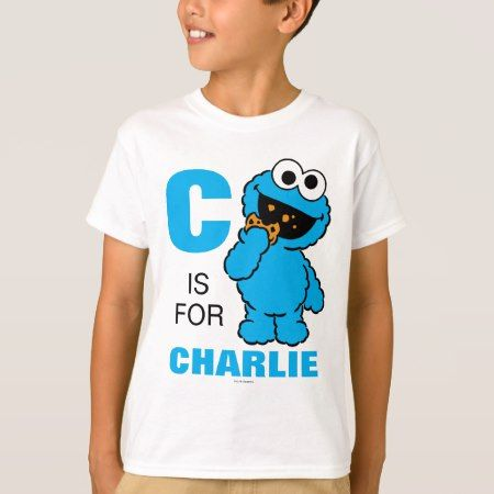 C is for Cookie Monster | Add Your Name T-Shirt - tap to personalize and get yours