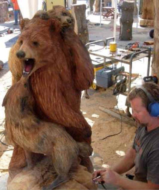 Best chain saw wood carving images on pinterest