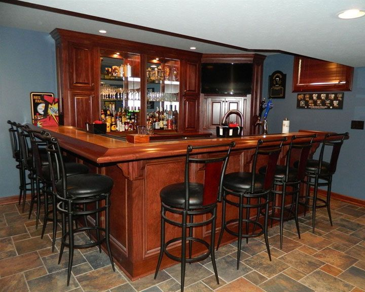1312 Best Bar Ideas Images On Pinterest Basement Bars