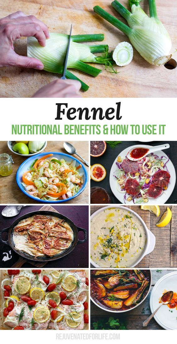 Fennel - its nutritional health benefits and how to use it in the kitchen, including a round up of some amazing fennel recipes. Click here to learn more: http://rejuvenatedforlife.com/fennel-nutritional-benefits-how-to-use-it/