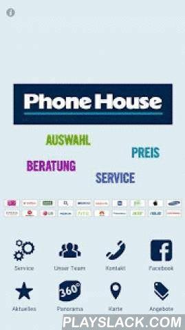 Phone House Ehingen  Android App - playslack.com , Jetzt gibt es das Phone House Ehingen (Donau) als App für Ihr Smartphone.Schauen Sie sich die aktuellen Angebote an, starten Sie einen virtuellen Rundgang durch den Verkaufsladen und nehmen Sie direkten Kontakt zum Phone House auf. Das Team um Inhaber Udo Holzschuh freut sich auf Ihren Anruf und Ihren Besuch!Unser Leistungsumfang: Als Vollsortimenter und Komplettanbieter vereinen wir alle starken Marken der Telekommunikationsbranche unter…