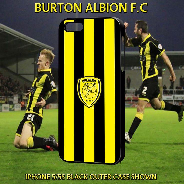Burton Albion f.c - English football club- apple iphone cases all ...