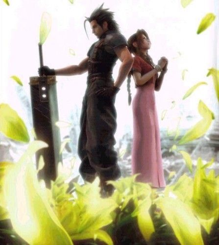 Zack and Aerith of Final Fantasy VII/7 on murky burning's LiveJournal. One of all-time fave pairings from the entire series.