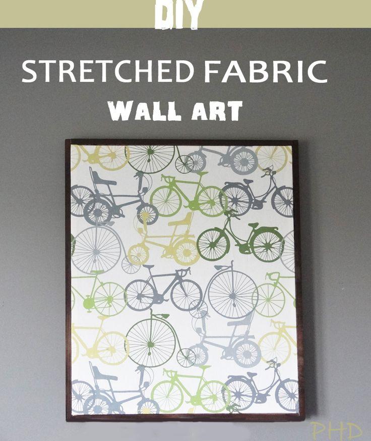Best 25+ Fabric wall art ideas on Pinterest | Large wall ...