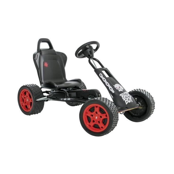 FERBEDO Go-Cart Cross Runner Bad Boy matt-schwarz 5312...