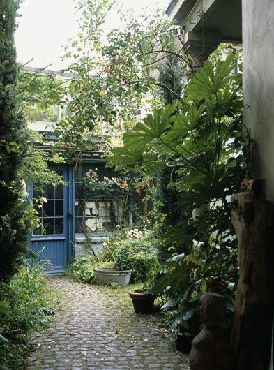 ... patio, Decorazione piccolo patio e Piscina paesaggistica in cortile