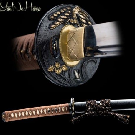 Tombo - Dragonfly Katana sword by YariNoHanzo. Samurai sword, battle ready, shinken for cutting.
