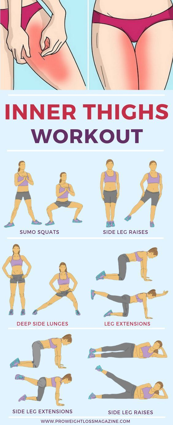 10 Minute Inner Thigh Workout To Try At Home – #fo…