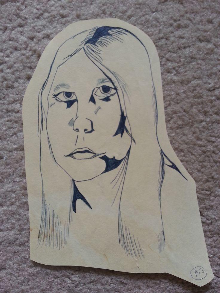 Self Portrait by BSStrocen (highschool)