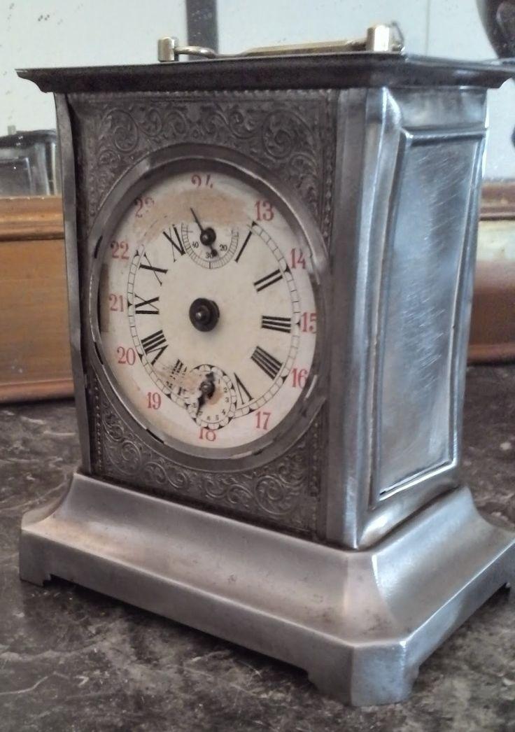www.didoulabrocante.com: ancien mouvement d'horlogerie a échappement boite a musique ancien réveil d'officier de mariée