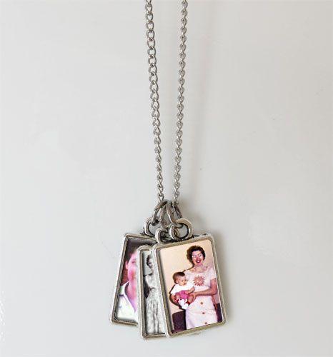 Photo Album Necklace