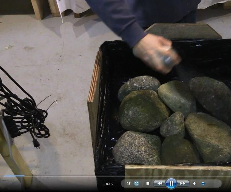 Learn how to create your own concrete rocks for building rock walls, fire pits, decorative piece and more!