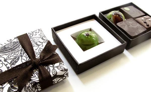 Small bonbon assortment by Rózsavölgyi Csokoládé