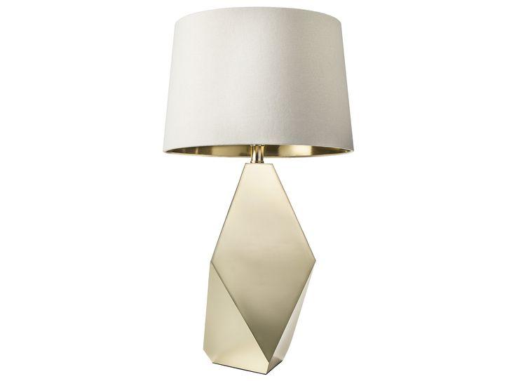 Gold Table Lamp Base 55 And Gold Lining Lamp Shade 25