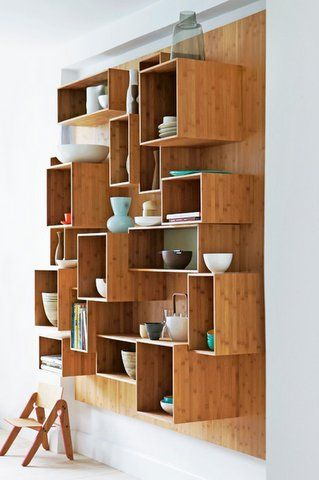 Love this idea so much storage spaces in a small area!