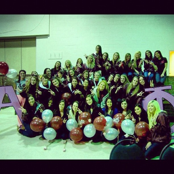 New babies ! Yay love my sorority #sisters #alphaphi #hofstra - @carissaaann | Webstagram