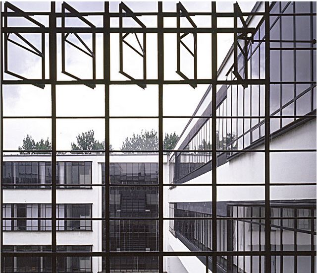 windowstatement/walter gropius, bauhaus