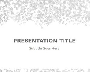 27 best free powerpoint templates images on pinterest free free numbers powerpoint template is a free ppt template with number digits and gray in the slide design on math or even financial presentations in toneelgroepblik Gallery