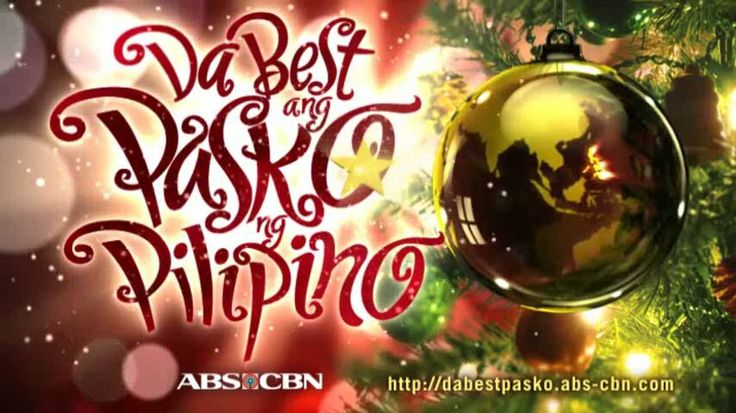 """This is the slogan of the 2011 ABS-CBN Christmas Station ID, """"Da Best ang Pasko ng Pilipino!"""" which was also the song sang by Filipino-Canadian singer and YouTube sensation Maria Aragon with the University of the Philippines Concert Chorus. This theme shows how Filipinos in the Philippines and around the world should know that the Filipino Christmas celebration is the best. #DaBestPasko #DaBestangPaskongPilipino #DaBestangPaskongPinoy #ABSCBNChristmasStationID"""