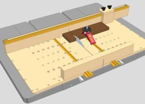 Table Saw Sled Plans