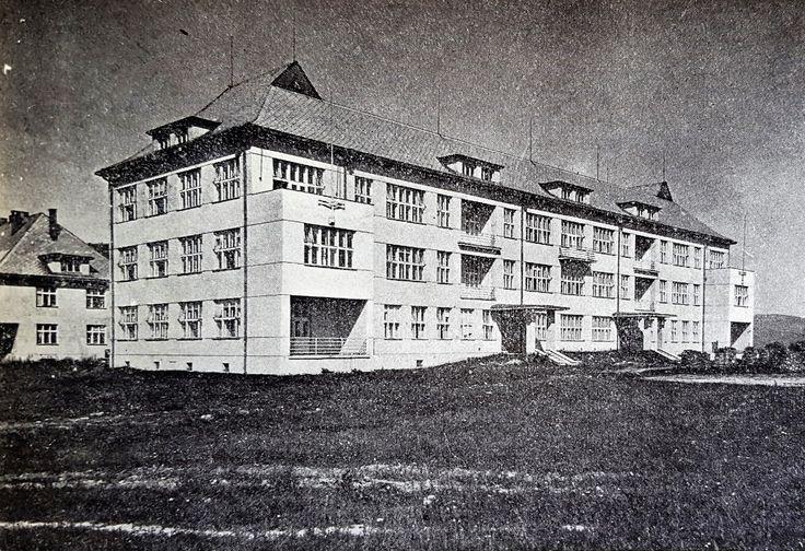 Žilina State Hospital, Surgical Pavilion. Source: Československá nemocnice Czechoslovak Hospital Journal, 1934)