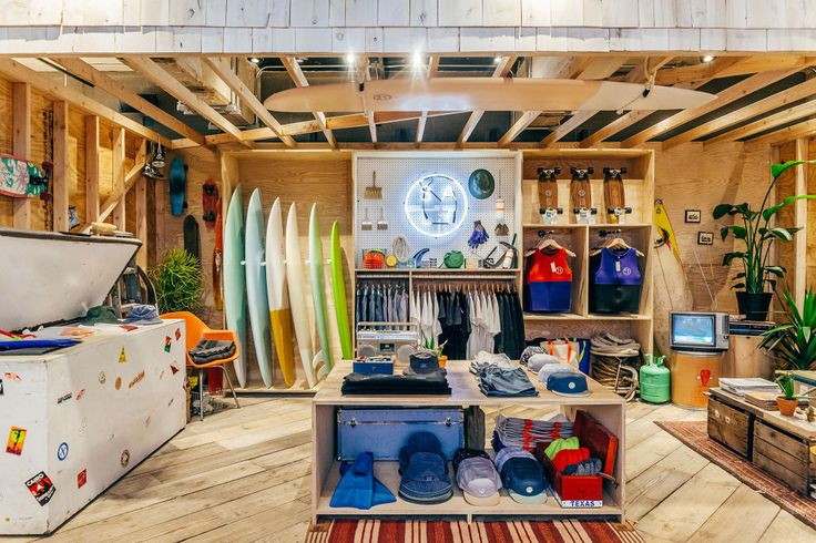 The Surf pop up shop - Brooklyn style