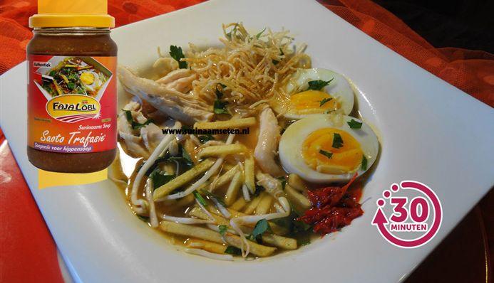 Surinaams eten – Saoto Original (de lekkerste Surinaamse soep)