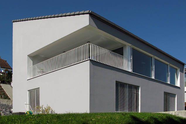 Haus Rey - das lichtdurchflutete Hangbauprojekt « EINFAMILIENHÄUSER « PROJEKTE « am-architektur gmbh andré meier, lenzburg