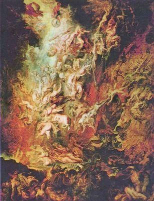 Höllensturz der Verdammten - Poster, Gemälde & Kunstdrucke