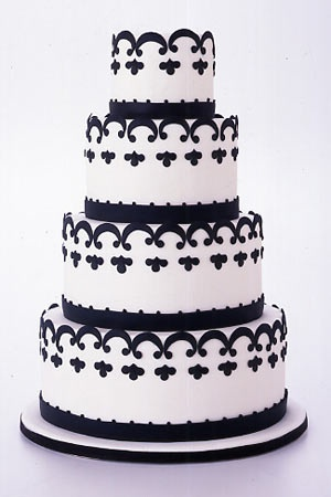 17 Best 1000 images about CAKES BLACK WHITE 1 on Pinterest White