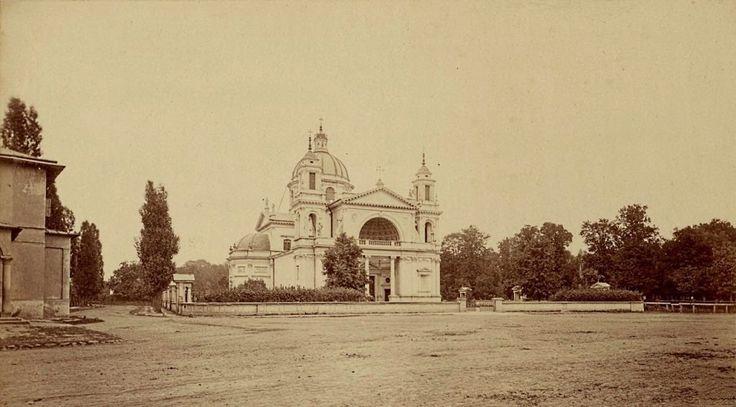 Mamy dla Was prawdziwą perełkę. Nieznane zdjęcia Warszawy z lat 1870-tych! Cudo! Kościół św. Anny w Wilanowie