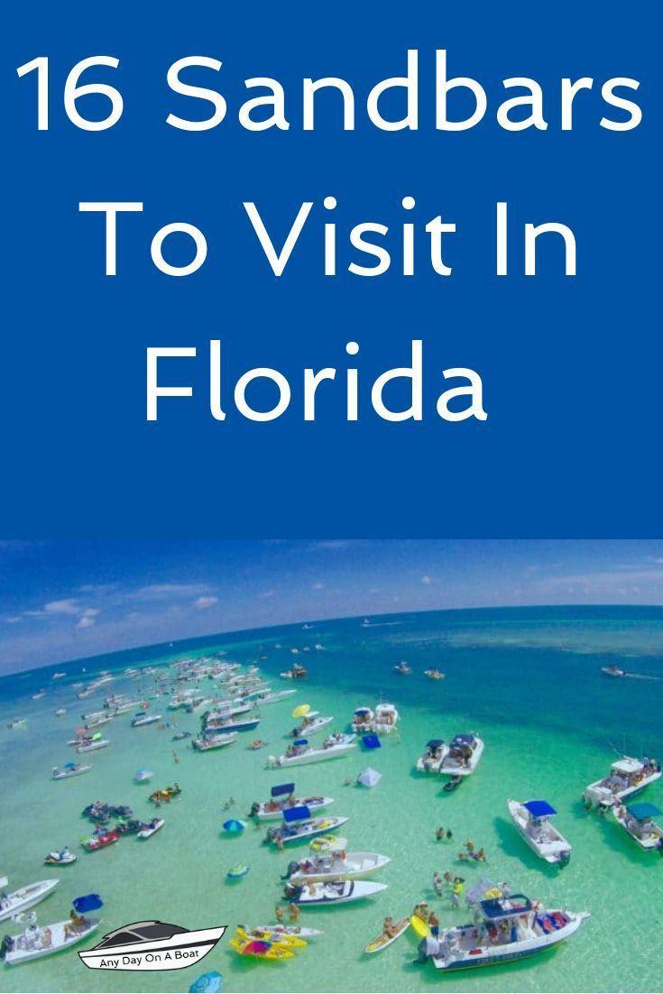 A List Of 16 Sandbars To Visit In Florida From The Panhandle To The Florida Keys This Is A List Of Sandb Florida Travel Florida Adventures Islamorada Florida