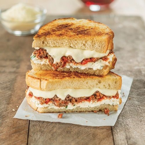 Lasagna Grilled Cheese Recipe brought to you by our friends at Galbani