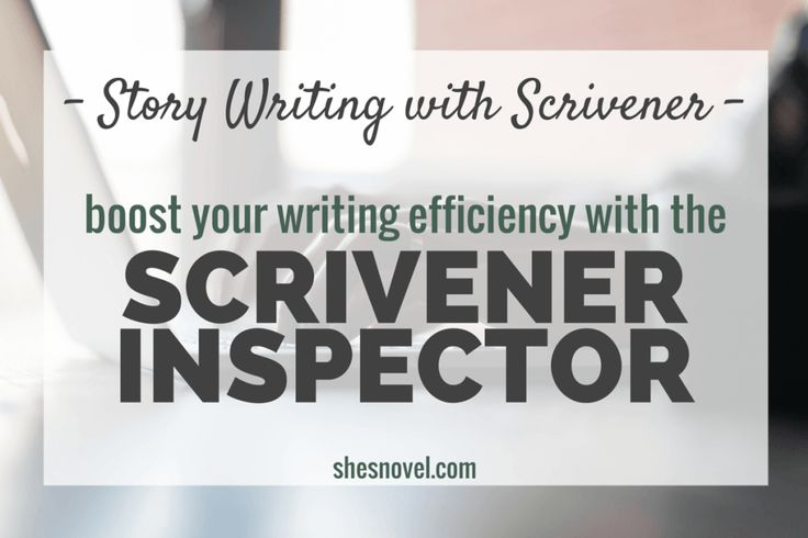 Writing a novel with scrivener e-books