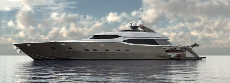 Pachoud Motor Yachts New Zealand - 37M LOMOcean Sport Yacht
