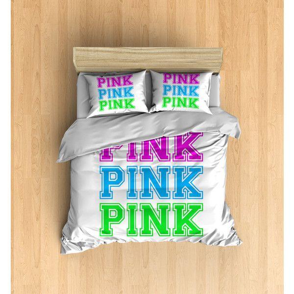 Victorias Secret Bedding PINK Duvet Cover, Victorias Secret Duvet,... ($108) ❤…