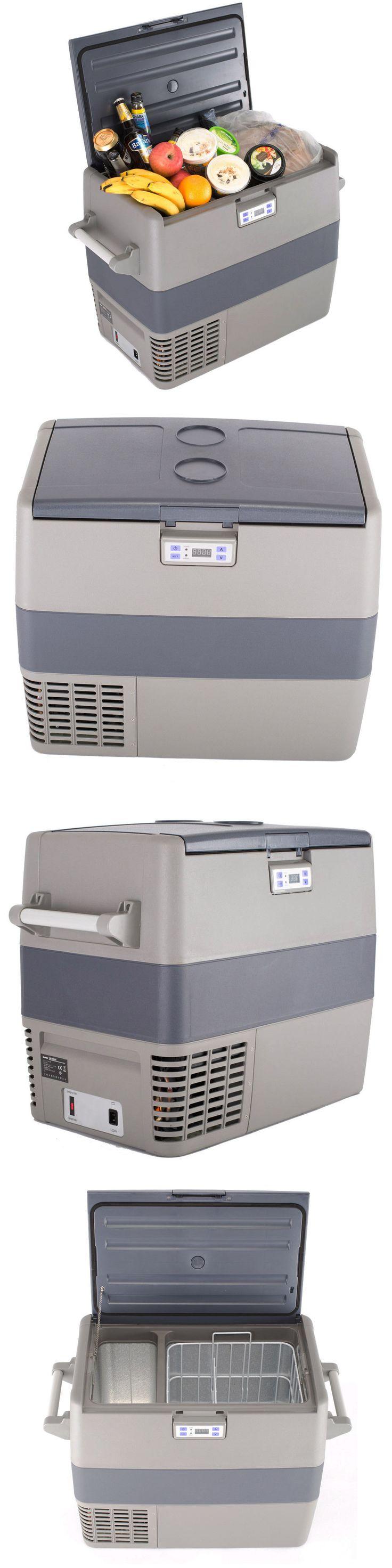 12-Volt Portable Appliances: 110V 12V Portable Car Refrigerator Compressor Cooler Truck Fridge Freezer 49L -> BUY IT NOW ONLY: $399.0 on eBay!