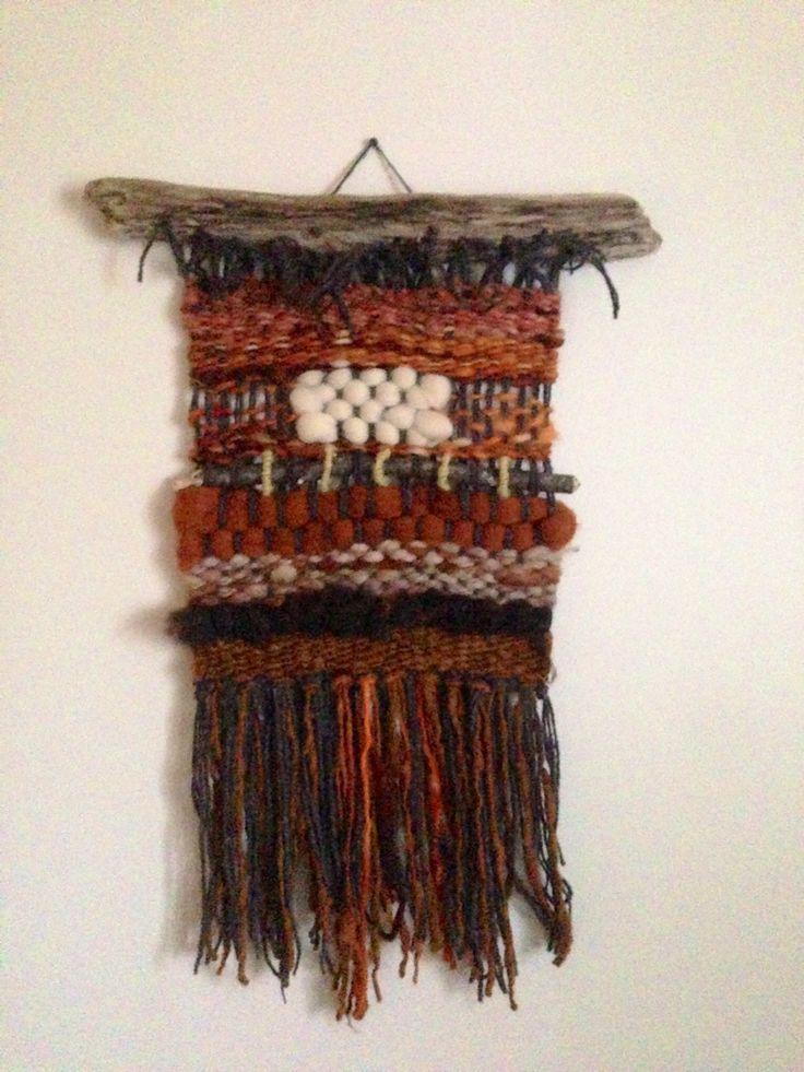 Telar de Muro/ Weaving!
