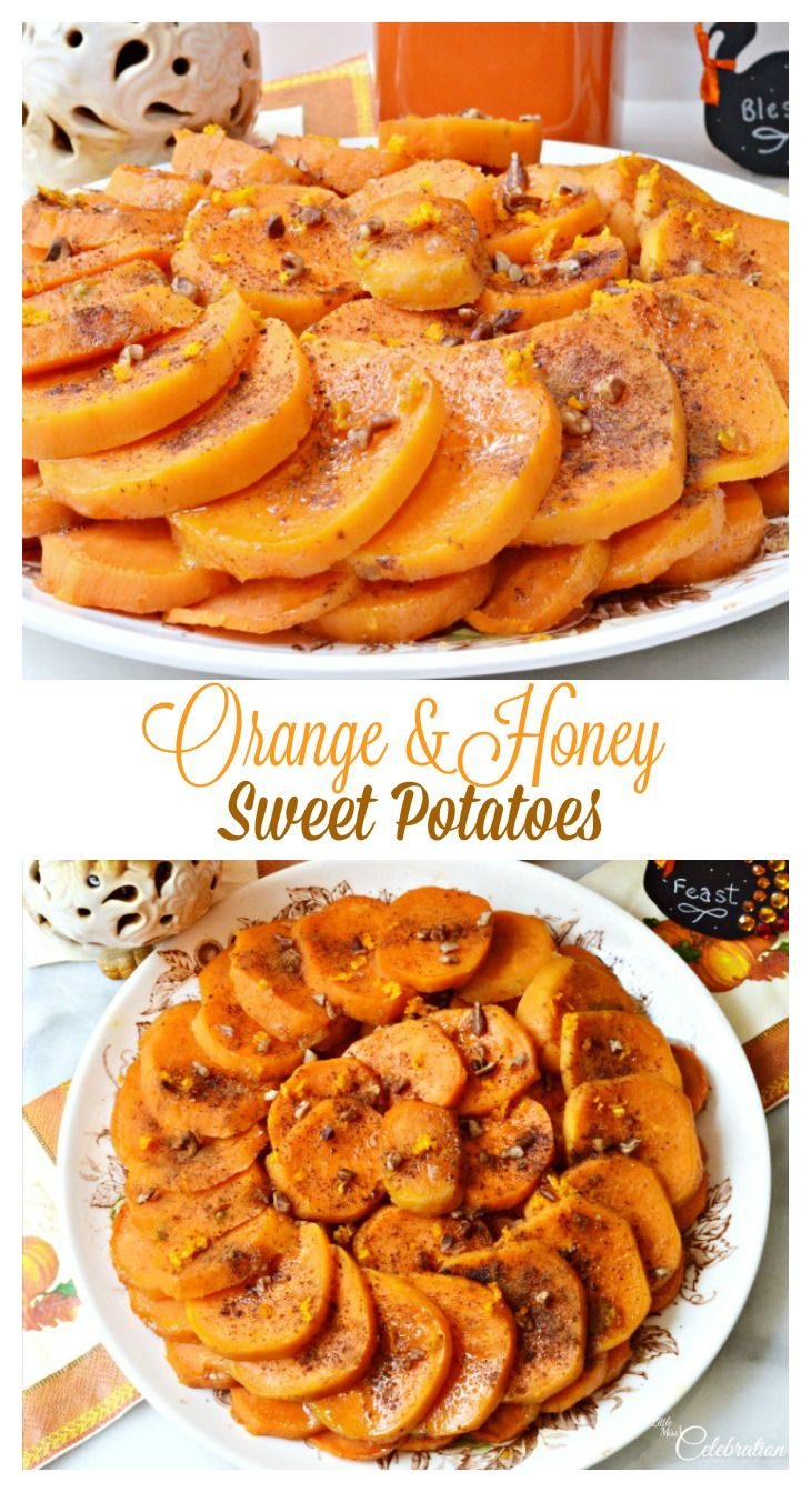 Try a different take on sweet potatoes this Thanksgiving! Orange & Honey Sweet Potatoes are a play on Potatoes Anna, bright with the flavor of Valencia orange.