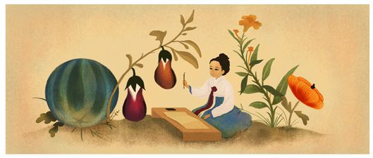 With a delicate touch, Korean artist and poet Shin Saimdang captivated audiences with her paintings of flowers, butterflies, and landscapes. In recognition of her contributions to Korean culture, Saimdang was selected to appear on the South Korean 50,000 won note, becoming the first woman to have the honor.  Today we celebrate what would have been her 510th birthday.