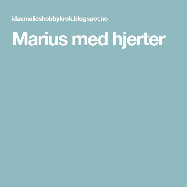 Marius med hjerter